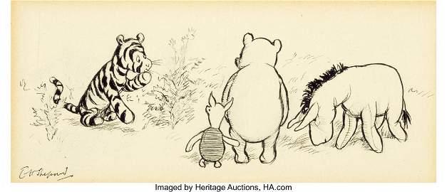 71009: Ernest Howard Shepard (British, 1879-1976) It Ap
