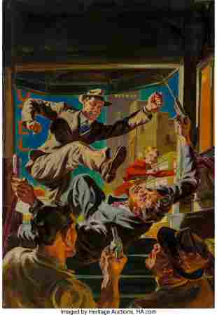 71076: Norman Saunders (American, 1907-1989) Up Pops th