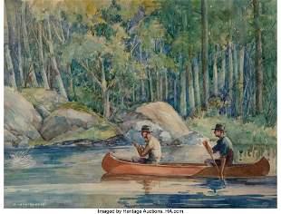 71326: W. Hamilton Hope (American, 20th century) Canoe