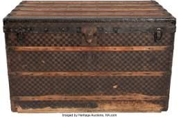 58048: Louis Vuitton Damier Ebene Monogram Coated Canva