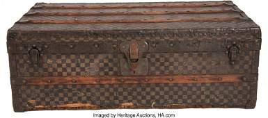 58049: Louis Vuitton Damier Ebene Monogram Coated Canva