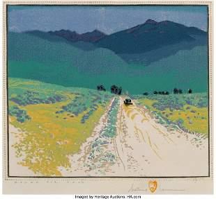 67001: Gustave Baumann (German/American, 1881-1971) Bou