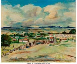 67003: Joseph Fleck (American, 1892-1977) Spring, 1966