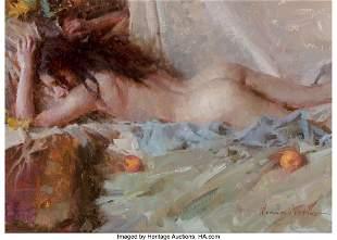 67016: Morgan Weistling (American, b. 1964) Nude in Gre