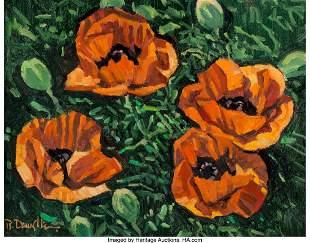 67017: Robert Daughters (American, 1929-2013) Four Popp