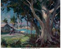 67119: Emile Albert Gruppe (American, 1896-1978) Florid