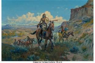 67029: Olaf Carl Seltzer (American, 1877-1957) Horse Th