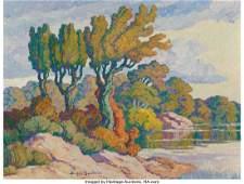 67052: Birger Sandzén (American, 1871-1954) Early Fall