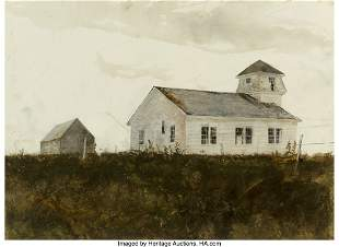 67152: Andrew Newell Wyeth (American, 1917-2009) St. Ge