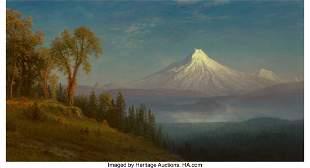 67076: Albert Bierstadt (American, 1830-1902) Mount St.