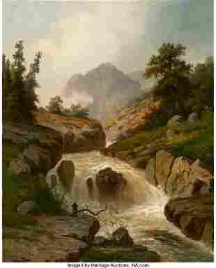67078: Hermann Ottomar Herzog (American, 1832-1932) The