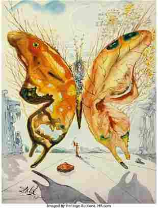 77016: Salvador Dali (1904-1989) Venus Butterfly, 1947