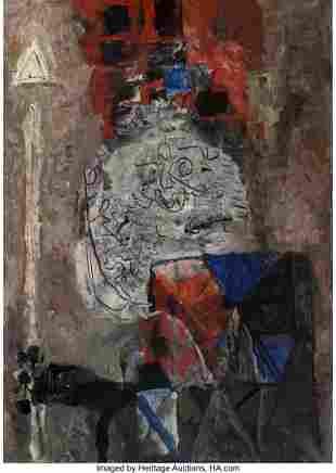 77056: Antoni Clavé (1913-2005) Guerrier au Plumet, 19
