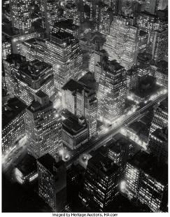 38003: Berenice Abbott (American, 1898-1991) New York a