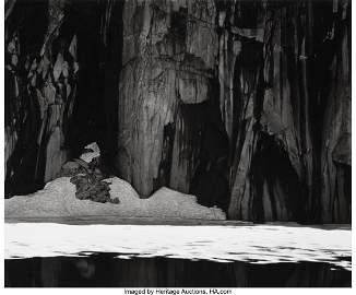 38008: Ansel Adams (American, 1902-1984) Frozen Lake an