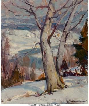 27039: Emile Albert Gruppe (American, 1896-1978) Winter