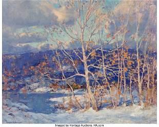 27040: Emile Albert Gruppe (American, 1896-1978) Winter