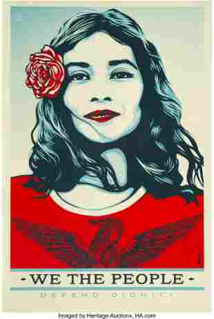 40040: After Shepard Fairey (b. 1970) We the People (th