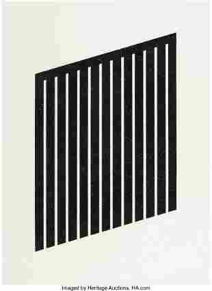 40060: Donald Judd (1928-1994) Untitled, 1978-79 Aquati