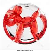 40064: Jeff Koons (b. 1954) Balloon Dog (Red), 1995 Chr