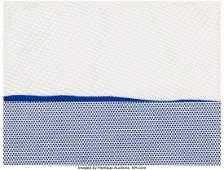 40069: Roy Lichtenstein (1923-1997) Seascape I, from Ne