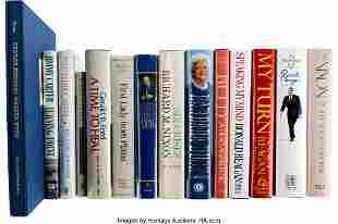 47286: Collection of Fourteen Books Signed by President