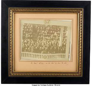 "47276: John F. Kennedy Signed Photograph. 9.25"" x 7.5"""