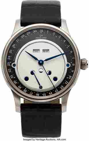 Jaquet Droz, White Gold Limited Edition Automati