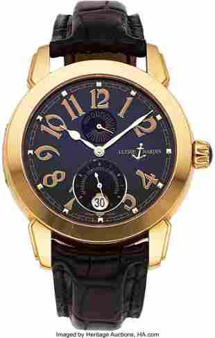 Ulysse Nardin Ref. 276-88 Gold Automatic Chronom