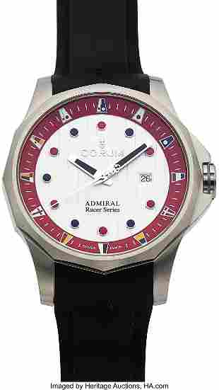 Corum, Unused Admiral Racer Series, Ref. 01.0157