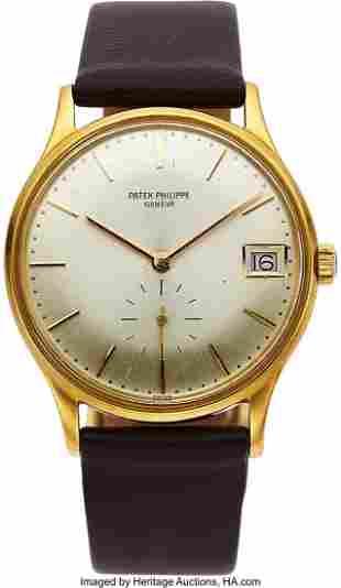54060: Patek Philippe, 18k Gold Self-Winding Wristwatch