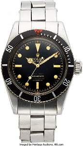 """54095: Rolex, Extremely Rare And Important Submariner """""""