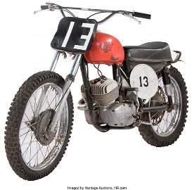 21001: Vintage Skoda CZ 250 Motorcycle Ridden by Paul N