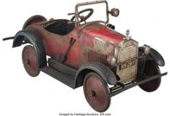 21014: Steelcraft Packard Eight Roadster Pedal Car, Cle