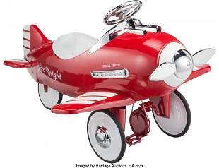 21026: Dexton Air Knight Special Edition Pedal Airplane