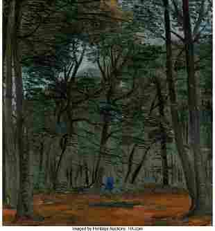 69008: André Derain (French, 1880-1954) Sous-bois à S