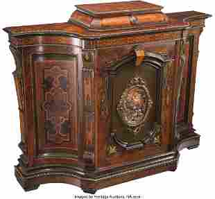 61035: An American Renaissance Revival Sideboard with R