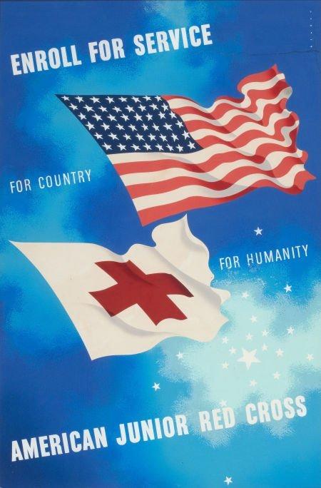JOSEPH BINDER (American, 1898-1972) Enroll For Service,