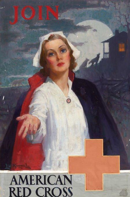 LU KIMMEL (American, 1905-1973) Join, poster illustrati