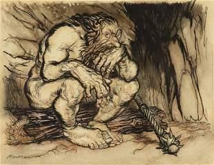 ARTHUR RACKHAM (British, 1867-1939) English Fairy Tales