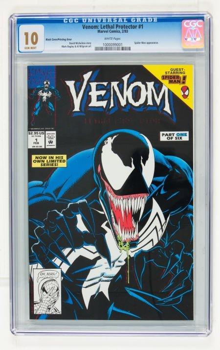 92231: Venom: Lethal Protector #1 Black Cover/Printing