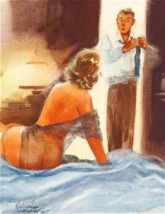 E. SIMMS CAMPBELL (American, 1906-1971) Playboy