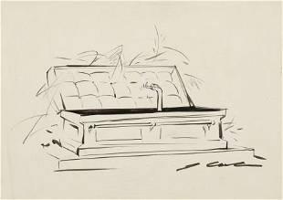 JACK COLE (American, 1914-1958) Die-Hard, Female