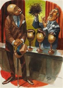 JACK DAVIS (American, b. 1926) Playboy cartoon i