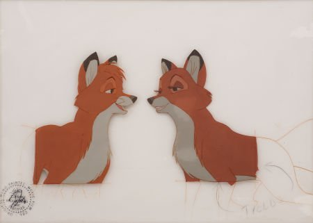 94279: The Fox and the Hound Animation Production Cel O