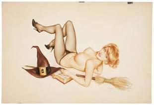 93087: ALBERTO VARGAS (American, 1896-1982) Vargas Girl