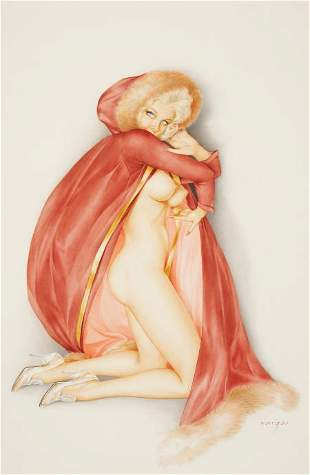 93088: ALBERTO VARGAS (American, 1896-1982) Vargas Girl