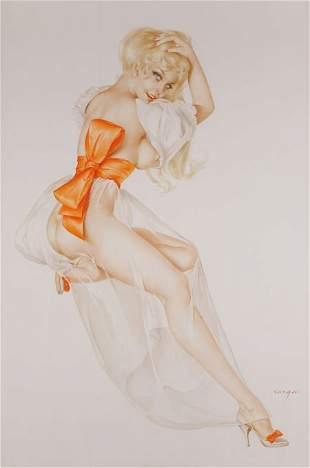 93089: ALBERTO VARGAS (American, 1896-1982) Vargas Girl
