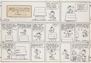 94204: Charles Schulz Peanuts Snoopy vs. the Red Baron