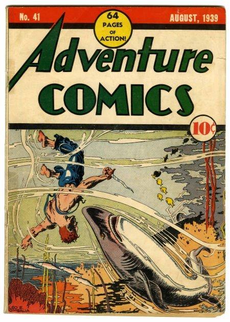 95007: Adventure Comics #41 (DC, 1939) Condition: Quali